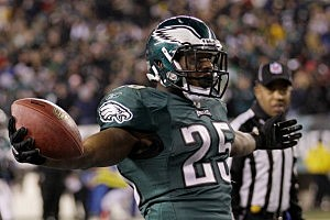 Eagles running back LeSean McCoy