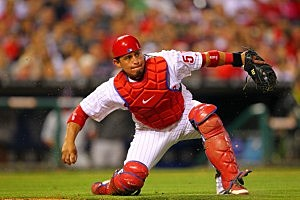 Phillies Catcher Carlos Ruiz