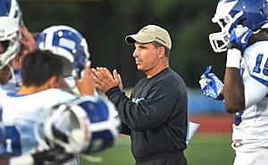 Former Hammonton football coach Pete Lancetta takes over at St. Augustine. (Photo: The Press of Atlantic City / Ben Fogletto)