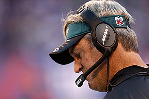 Eagles head coach Doug Pederson. (Jeff Zelevansky/getty images)