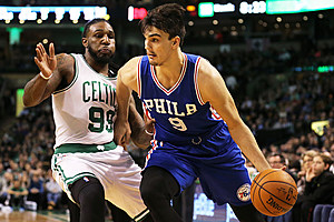 Dario Saric was drafted by the Orlando Magic in 2014. Maddie Meyer/Getty Images