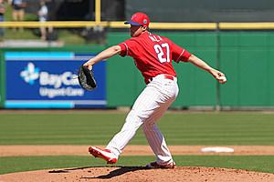 MLB: FEB 28 Spring Training - University of Tampa at Phillies