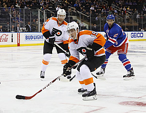 Jordan Weal will be available to the Las Vegas Golden Knights. (Bruce Bennett, Getty Images)