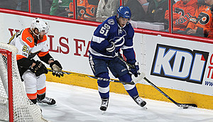 ilppula has seven goals and 34 points in 59 games thus far this season  (Getty Images, Len Redkoles)