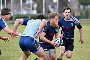 The South Jersey Sharks rugby team. (Photo: Dave O'Sullivan, Glory Days)