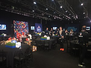 NFL Draft Green Room where prospects will wait to hear their name called