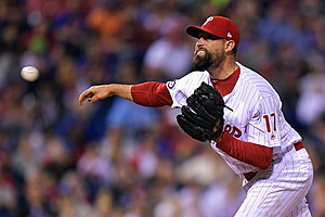 Phillies placed RHP Pat Neshek on the paternity leave list. (Drew Hallowell, getty images)