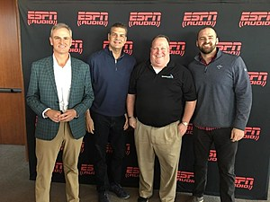 The new 97.3 ESPN Morning Show will feature trey Wingo, Mike Golic and Mike Golic Jr.