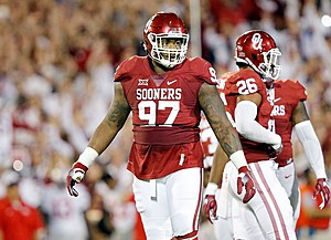 The Eagles are bringing in former Oklahoma DT Charles Walker. (Photo: CollegePressbox.com)