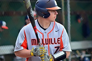 Millville baseball star Buddy Kennedy was recently drafted in the 5th round of the MLB amateur draft by the D-Backs. (Photo: Dave O'Sullivan, Glory Days)
