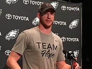 Carson Wentz and the Eagles finished up their spring work Thursday. (Photo: John McMullen/973espn.com)