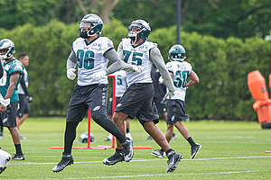 NFL: MAY 23 Eagles OTA