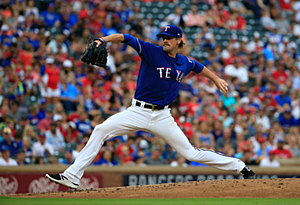 Could Cole Hamels be on the move again? (Ron Jenkins/Getty images)