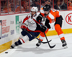 Washington Capitols v Philadelphia Flyers