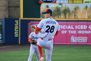Drew Anderson returns to Double-A after one outing (Frank Klose/Sports Talk Philly)