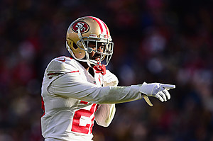 The Eagles have at least some interest in former 49ers CB Tramaine Brock. (Getty Images/Harry How)