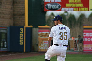 Mark Appel returned in time for the playoffs (Frank Klose/Sports Talk Philly)