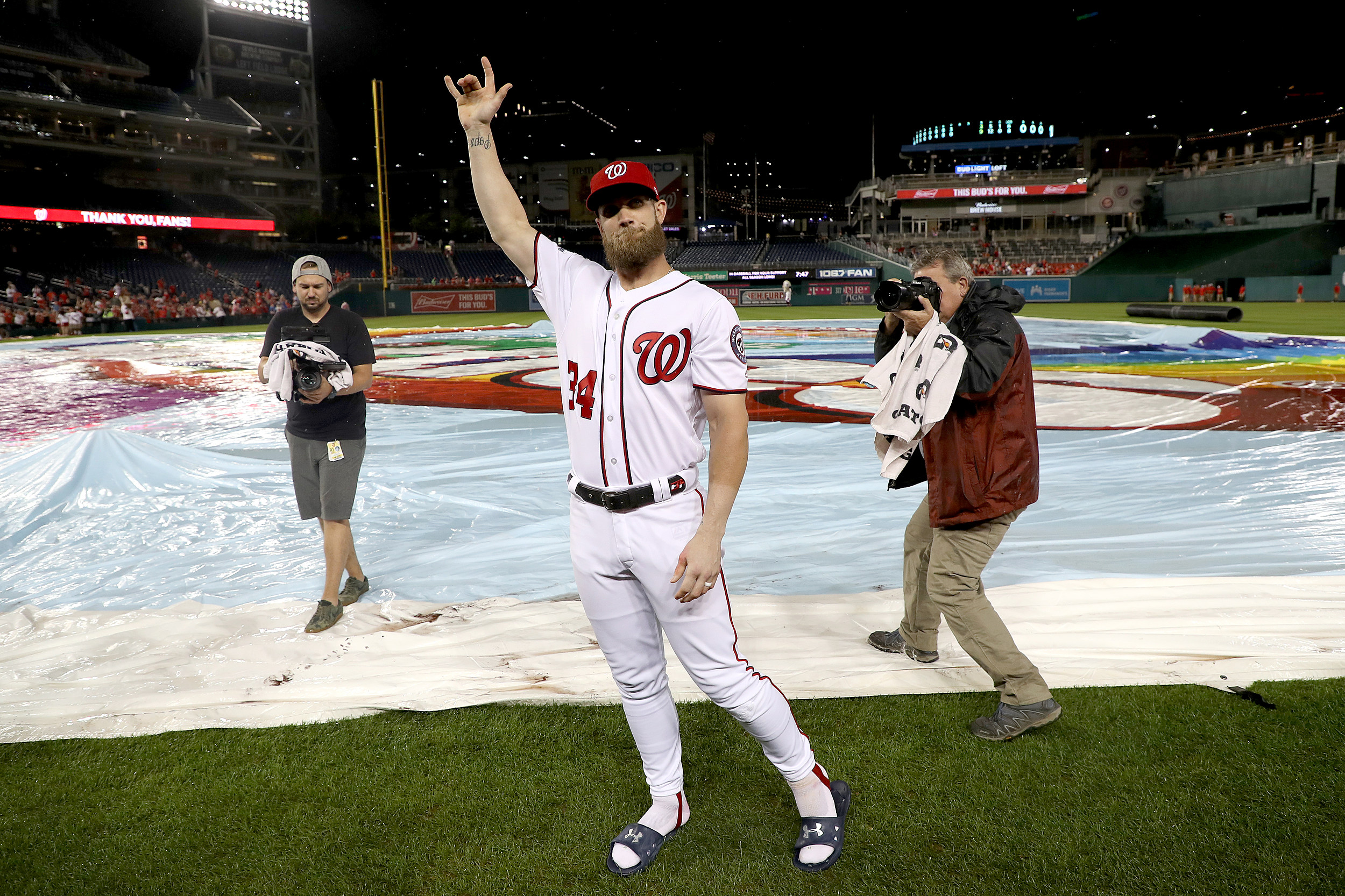 MLB Free Agent Rumors: Giants Meet With Bryce Harper