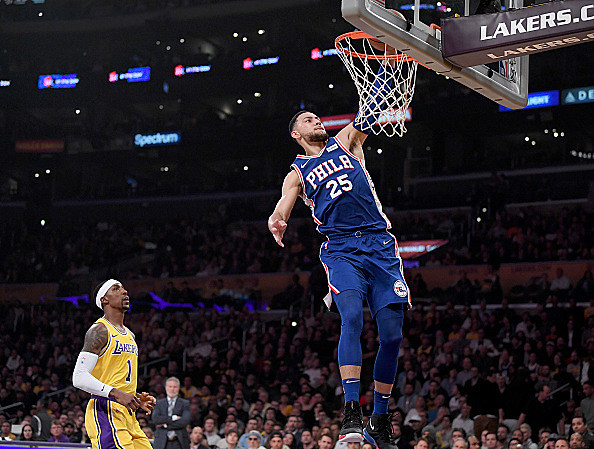 Ben Simmons makes 'World' Team for All-Star Weekend Rising Stars game